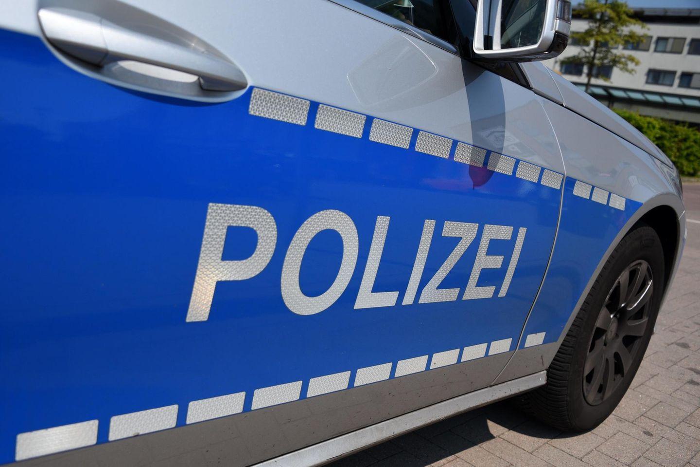 Ein Fahrzeug der Polizei