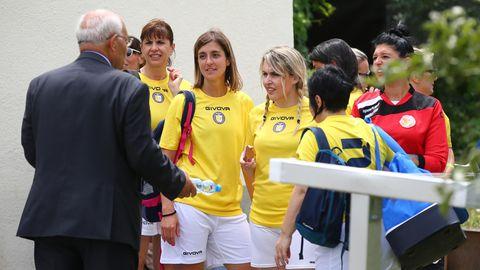 Das Team Vatikan wirdüber das Aus für das Freundschaftsspiel mit dem FC Mariahilf in Wien informiert