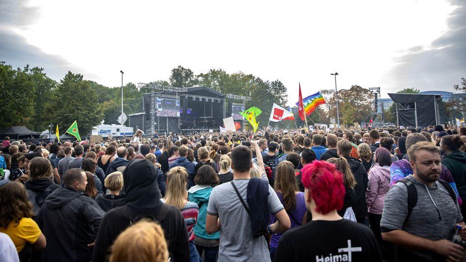 #wirsindmehr in Chemnitz 2018