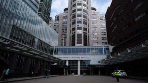 Eingangsbereich des Massachusetts General Hospital Boston