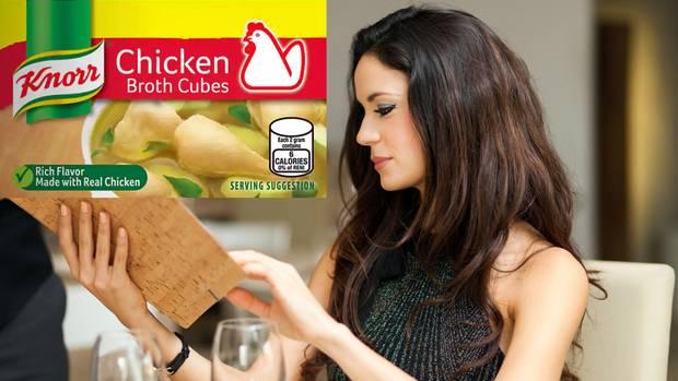 Knorr-Brühwürfel erwartet man nichtin einem Spitzenrestaurant (Symbolbild).