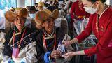 Abteil Tibetbahn