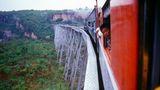 Eisenbahnbrücke Mandalay-Lashio