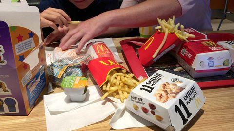 Essen bei McDonald's