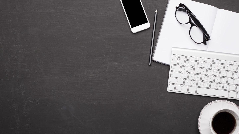 Eine externe Tastatur erleichtert das Tippen auf dem Handy