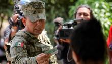 Mexikos Verteidigungsminister Luis Cresencio Sandoval