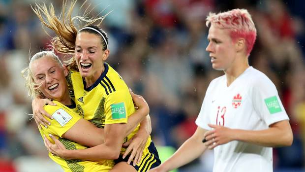 Sport kompakt Schweden besiegt Kanada