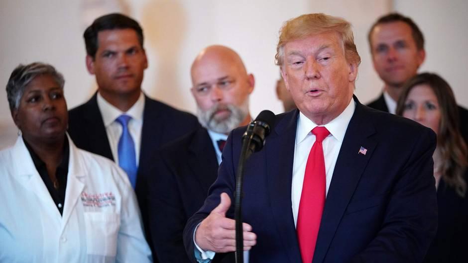 Es gibt zahlreiche Frauen, die Donald Trump sexuellesFehlverhalten oder Schlimmeres vorwerfen