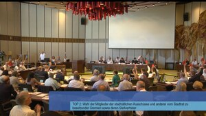 Abstimmung im Stadtrat