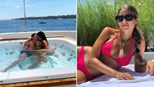 Cristiano Ronaldo und Cathy Hummels genießen ihre Urlaube