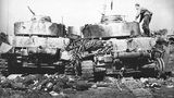 Zerstörte Panzer IV der 20. Panzerdivison
