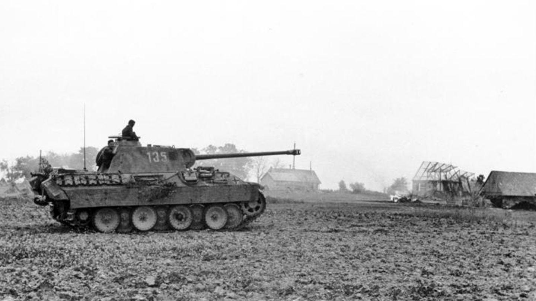 Im Verlauf der Offensive verloren die Deutschen einen Großteil ihrer Panzer.