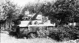 Tigerpanzer im Sommer 1944.