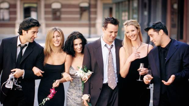"""Der Hauptcast von """"Friends"""""""