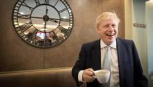 Boris Johnson, Bewerber für das Amt des britischen Premierministers