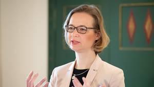 Katja Wolf (Die Linke), Oberbürgermeisterin von Eisenach