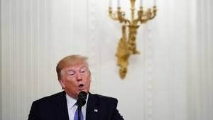 """Donald Trump: """"Das wunderbare iranische Volk leidet"""""""