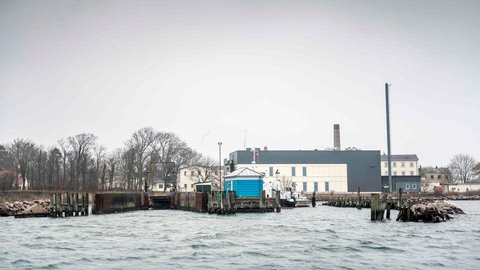 Die Insel Lindholm in Dänemark