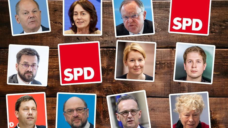 Mögliche Kandidaten für den SPD-Parteivorsitz