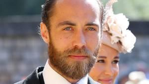 James Middleton bei der Hochzeitvon Prinz Harry und Meghan Markle