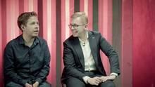 Kevin Kühnert und Philipp Amthor in der stern-Diskuthek