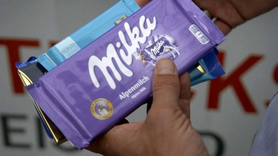 Die Tricks mit Eis und Schokolade