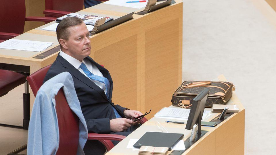 Der bayerische AfD-Abgeordnete Ralph Müller