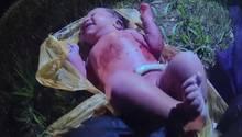 US-Cop rettet Baby aus Plastiktüte