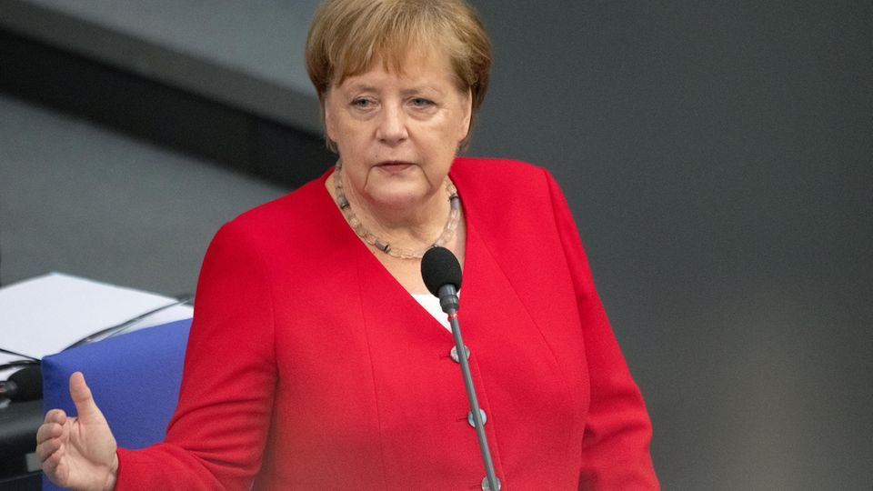 Bundeskanzlerin Angela Merkel will Tabakwerbung in Deutschland verbieten
