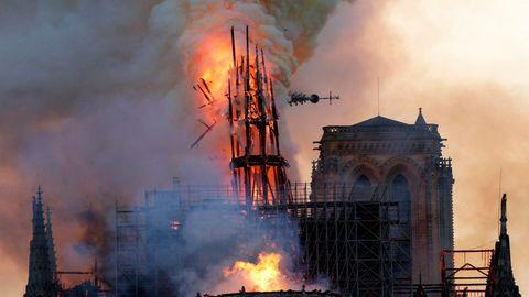 Notre-Dame in Flammen - Zigarette als Brandauslöser?
