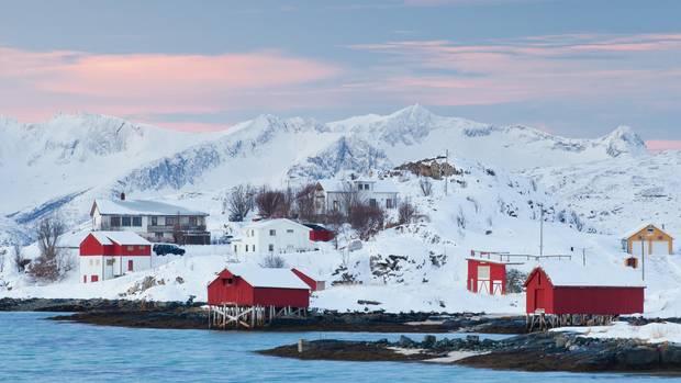 Sommarøy in Norwegen