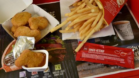McDonald's hat ein Müllproblem
