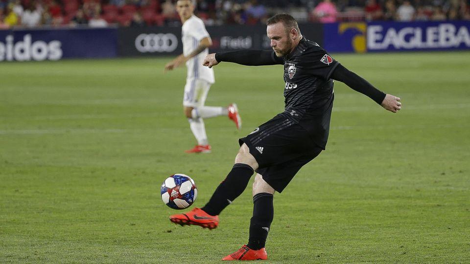 Wayne Rooney im Einsatz für D.C. United (Archivbild)