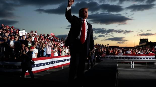 Trumps Wahlkampf dreht sich um Trump. Seine Gegner greift er frontal an – damit muss der nächste demokratische Kandidat umgehen können.