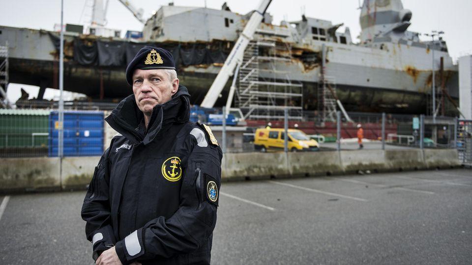 Die Fregatte wurde geborgen, aber eine Reparatur wird es nicht geben.