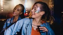 Du brauchst Inspiration? Hier sind fünf schöne Festival Make-ups