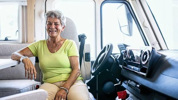 Maria Dhonau, 80, ist die Urmutter der Caravan-Meile