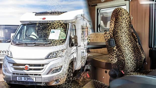 An der Mülheimer Caravan-Meile finden sich alle Extravaganzen. Wer Oberklasse will, muss schnell bis zu 180.000 Euro hinlegen.