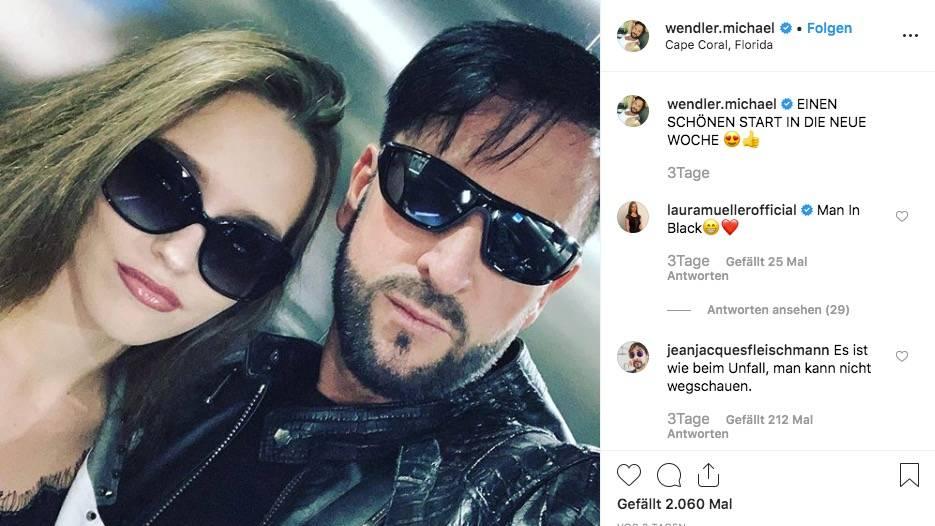 Michael Wendler und Laura Müller beantworten Fragen auf Instagram