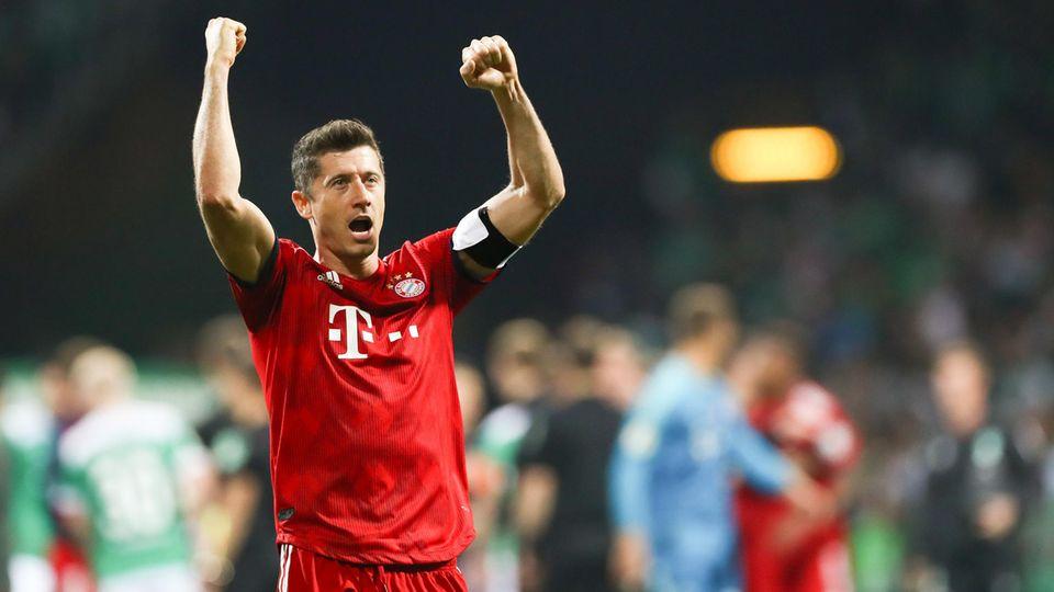 Robert Lewandowski tritt mit den Bayern im Eröffnungsspiel gegen Hertha BSC an