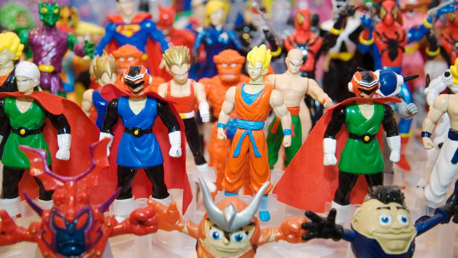 Plastik Action Figuren