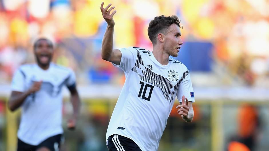 Die Tore von Luca Waldschmidt lässt die U21-Nationalelf vom EM-Titel träumen