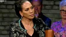Barbara Becker während einer TV-Show.