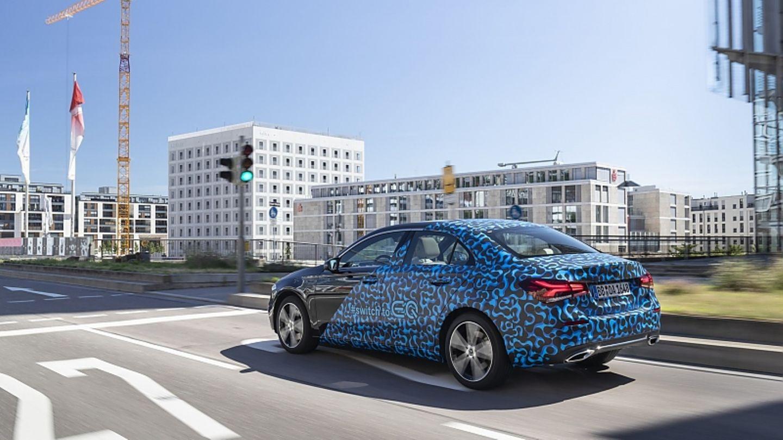 Die Fahrmodi orientieren sich an denen des Mercedes EQC