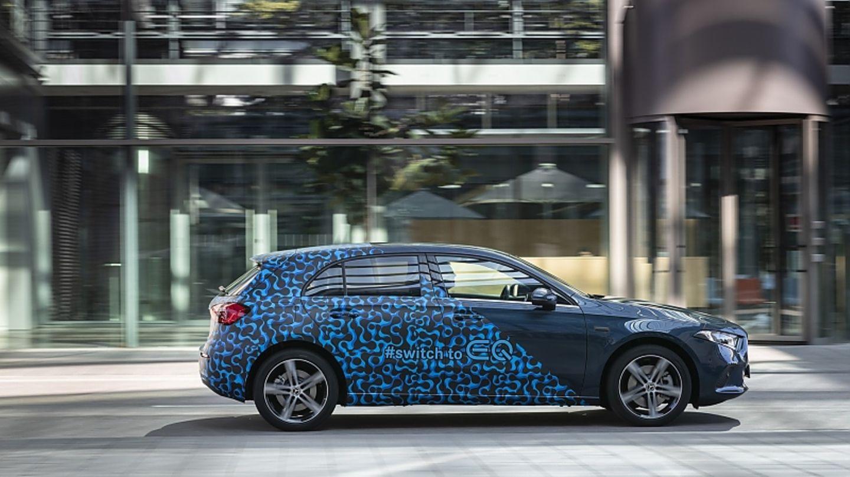 Bei der Mercedes A-Klasse PHEV liegt der Fokus auf der Reichweite