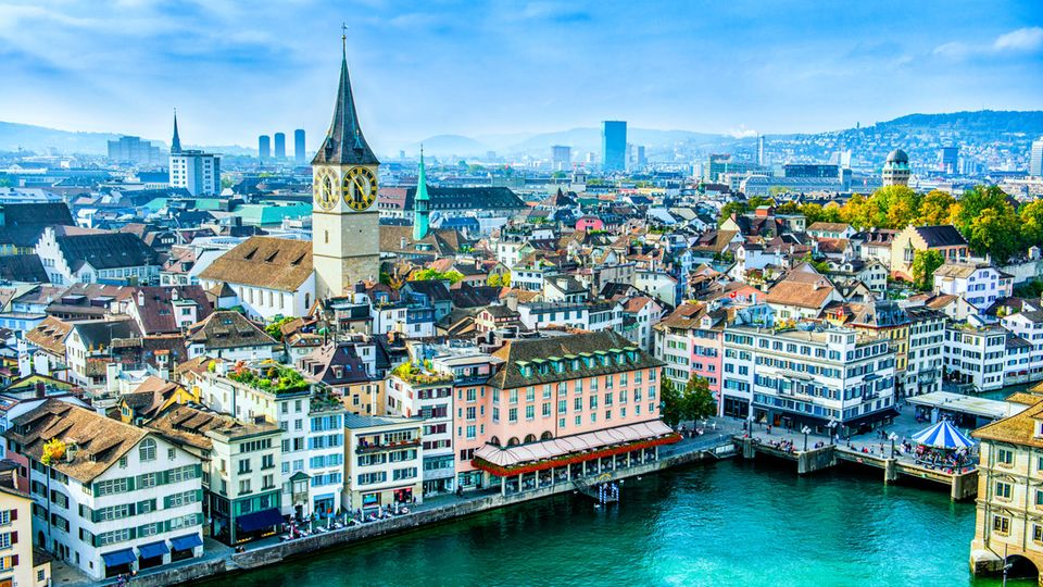 Platz 5: Zürich, Schweiz  Letztes Jahr noch Drittplatzierter rutscht die Metropole in den Bergen zwei Ränge ab.