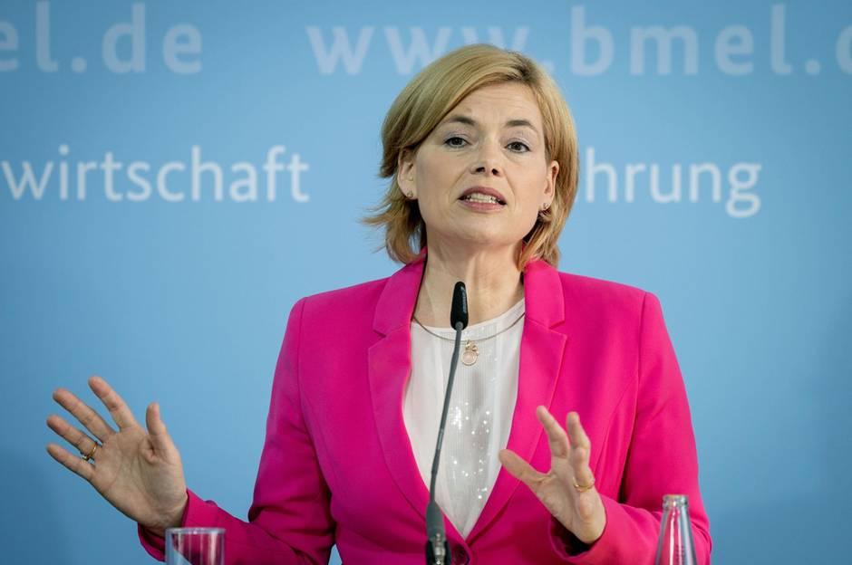 Agrarministerin Julia Klöckner lehnt Pflicht zum Tierwohl-Logo ab