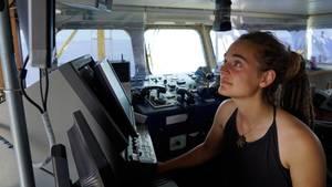 """""""Sea Watch3 """"-Kapitänin Carola Rackete, die in Italien verhaftet wurde"""