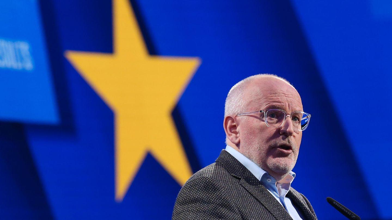Frans Timmermans, Vorsitzender der niederländischen Arbeiterpartei (SPE) und Vizepräsident der Europäischen Kommission
