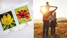 Das Briefporto wird teurer, Familien erhalten mehr Geld